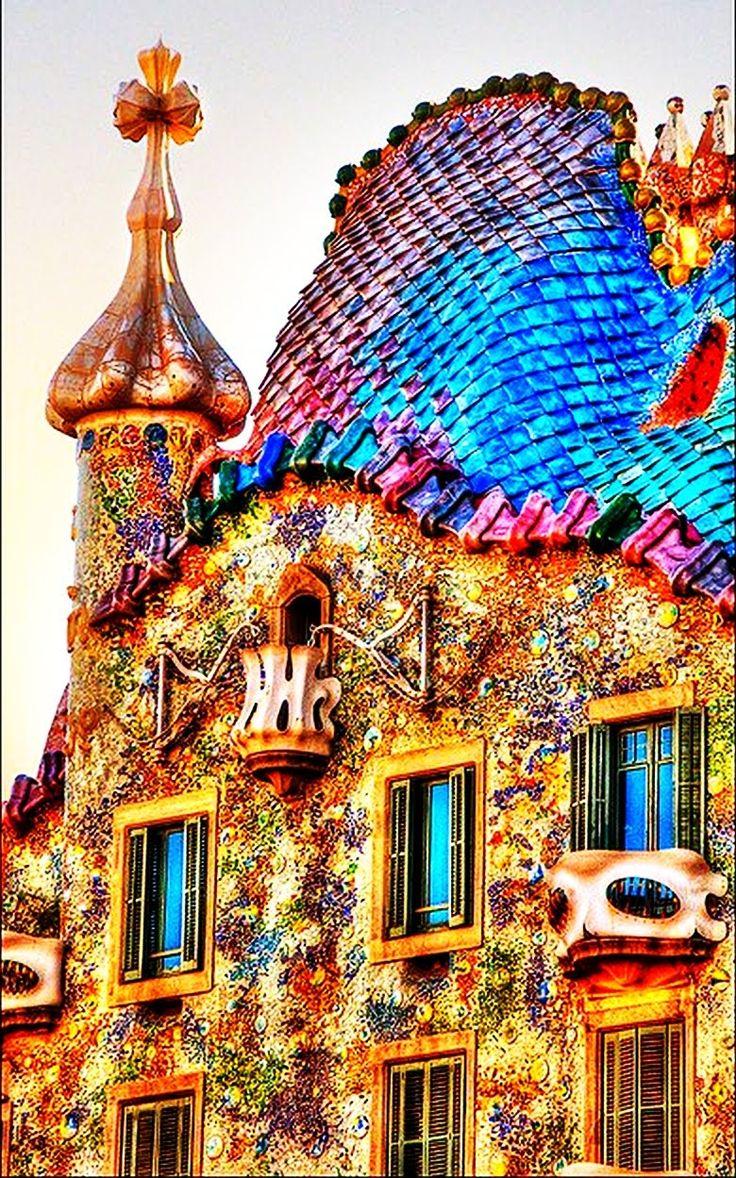 casa batllo de gaudi en barcelona