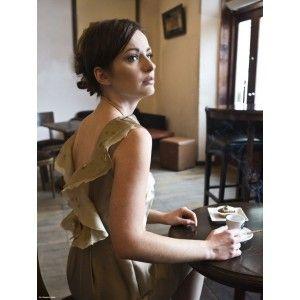 DP Dorota Pietruszka - dress with a neckline at the back
