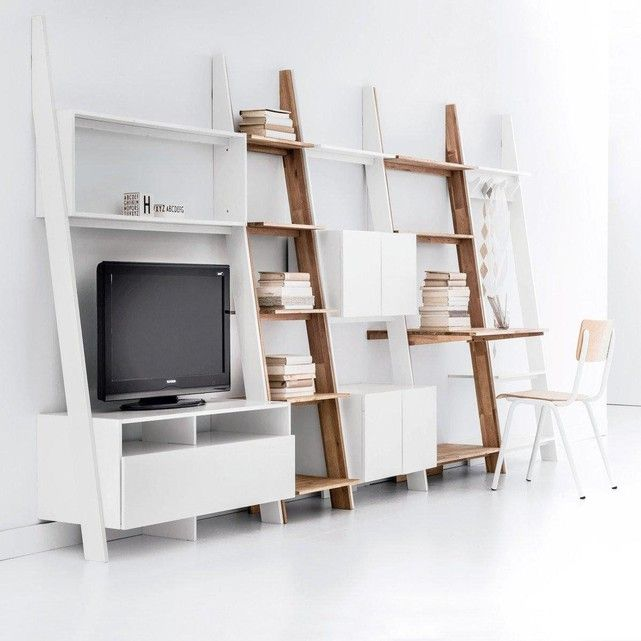 les 25 meilleures id es de la cat gorie etagere echelle en exclusivit sur pinterest stockage. Black Bedroom Furniture Sets. Home Design Ideas