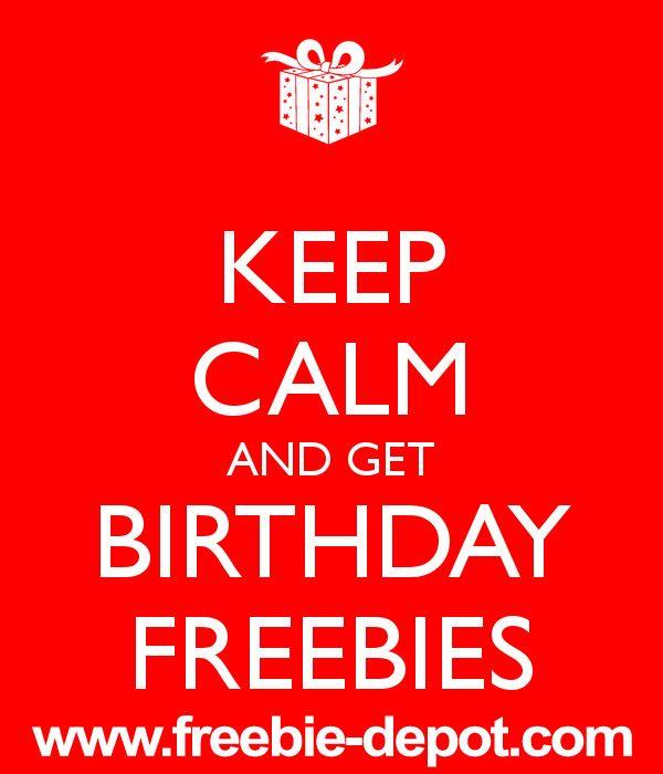 BIRTHDAY FREEBIES 2013 – FREE Birthday Food 2013, FREE Birthday Meals & FREE Birthday Stuff! | Freebie-Depot