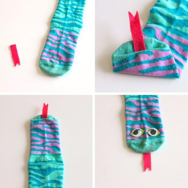 Deze Sok-Slang is een gegarandeerd succes bij de kids! (Zonder naaien)