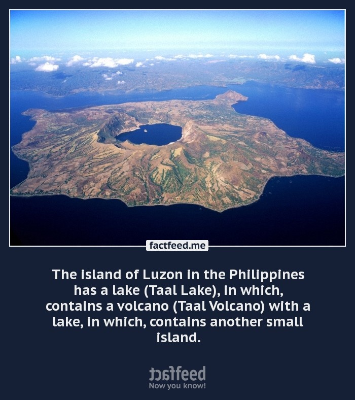 Taal Lake and Volcano, Island of Luzon, Philippines
