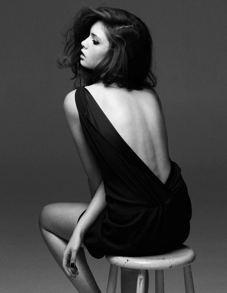 черно белые фото поз - 10