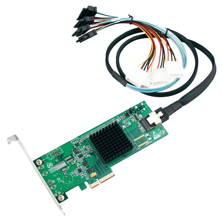 226.10$  Watch more here  - Marvell Chipset 4 Ports SATA 3.0 6Gb PCI Express PCIe Controller Card PCI-e to mini SAS converter  mini SAS to 4 SATA3.0 Cable