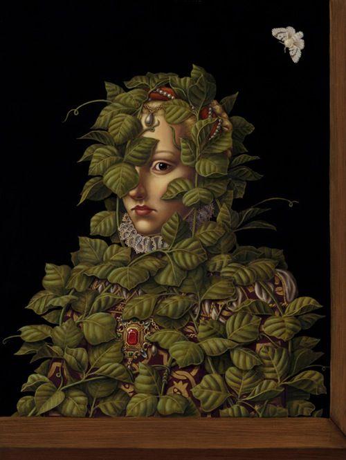 Invasive Species II, 2008 by Madeline von Foerster, giclée print on Hahnemühle 310gsm, cotton rag paper, 13″ x 17″