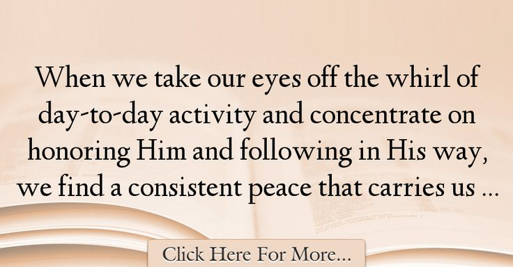 Charles Stanley Quotes About Peace - 53019