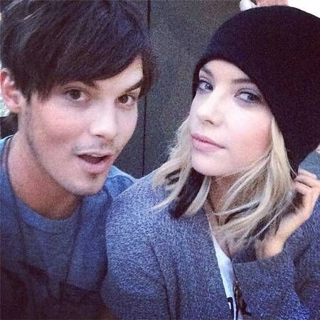 Here's Proof That Ashley Benson and Tyler Blackburn Are Cuter Than Hanna and Caleb