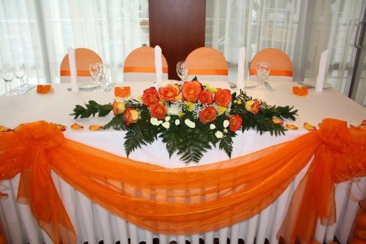 свадьба в оранжевом цвете - Поиск в Google