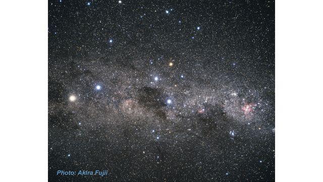 Ground-Based Image of Carina Constellation