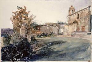 John Ruskin - Jardin À San Miniato