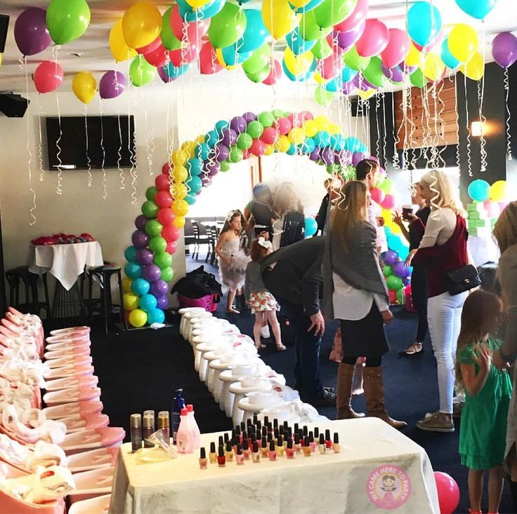 """55 Likes, 6 Comments - We Came Here To Party (@wecameheretopartyaus) on Instagram: """"🌈So much fun today! Happy pamper birthday Arianna🌈 Birthday girl chose pamper and #rainbow for her…"""""""
