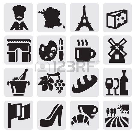A francia kult ra Stock fotó