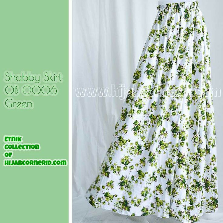 Shabby skirt by hijabcornerid