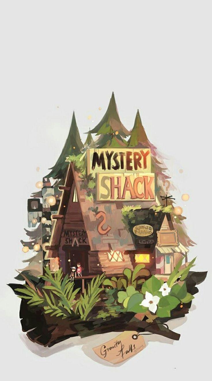 Cabana do mistério | Wallpapers | Desenhos animados ...