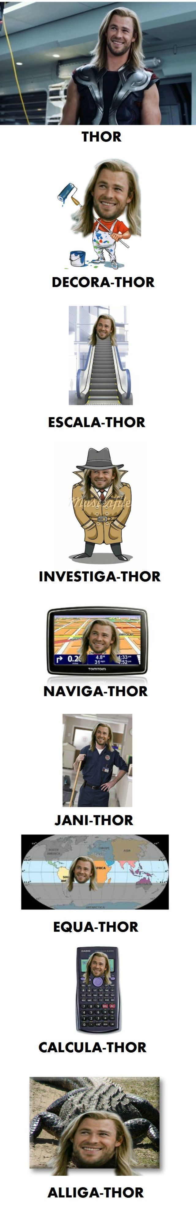 That Thor is funny!