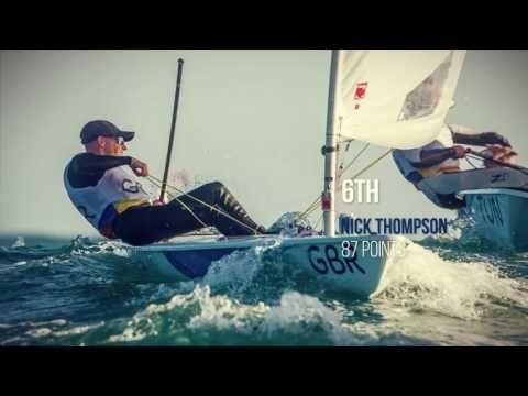 Rio 2016 Laser Medal Race Line Up - YouTube
