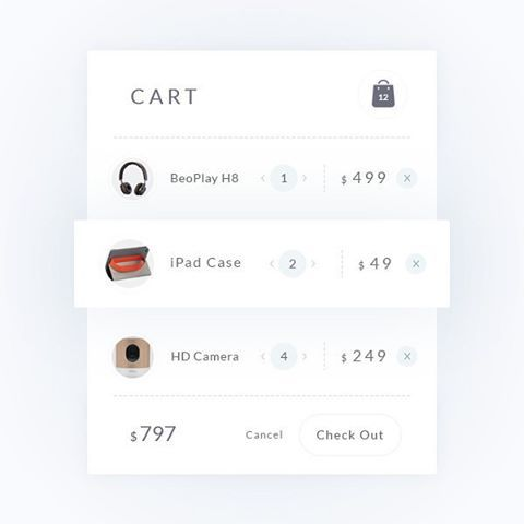 Cart ui View more --> goo.gl/WS9Hs0 #ui #ux #web #flat #checkout #ecommerce #shop #cart #checkout #product #shopping #market #design #website #site #dribbble #webdesign #uidesign #flatdesign #interface #art #photoshop #illustrator #graphic #graphicdesign #interaction #inspiration #typography #instaui #instadesign