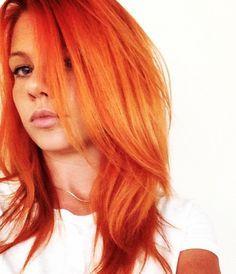 pravana orange hair color - Google Search