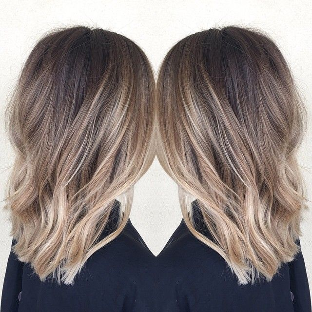 Melted blonde for this pretty girl! @habitsalon #meltedcolor #meltedhighlights…