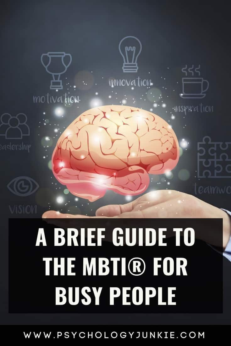 A Brief Guide to the MBTI® for Busy People