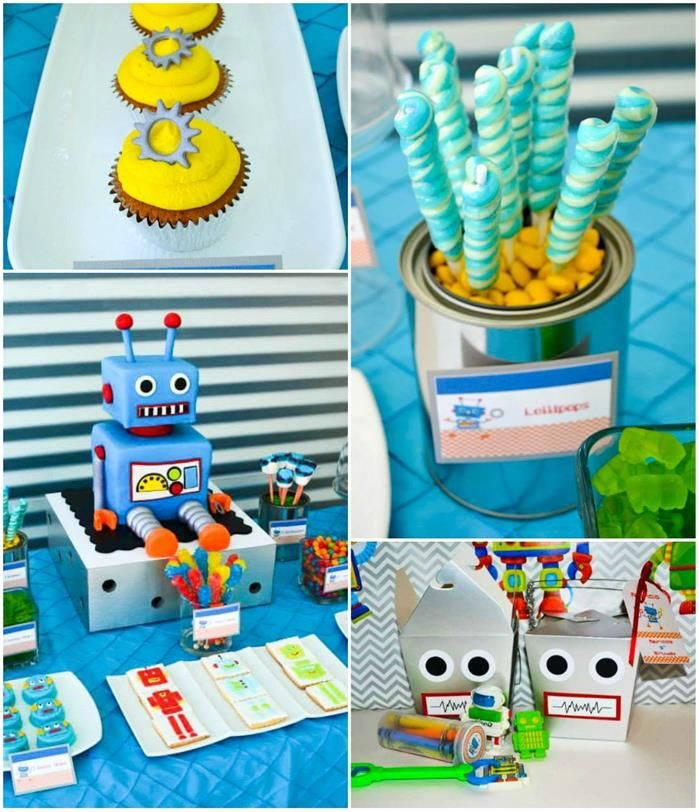 My Robot Party featured at Kara's Party Ideas!!! www.facebook.com/partyliciousevents