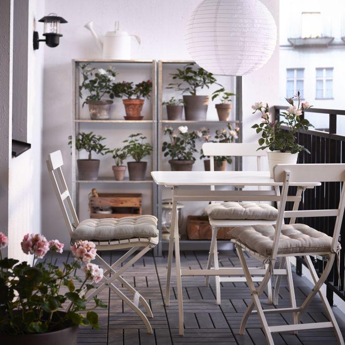 Lovely Ikea Balcony Furniture