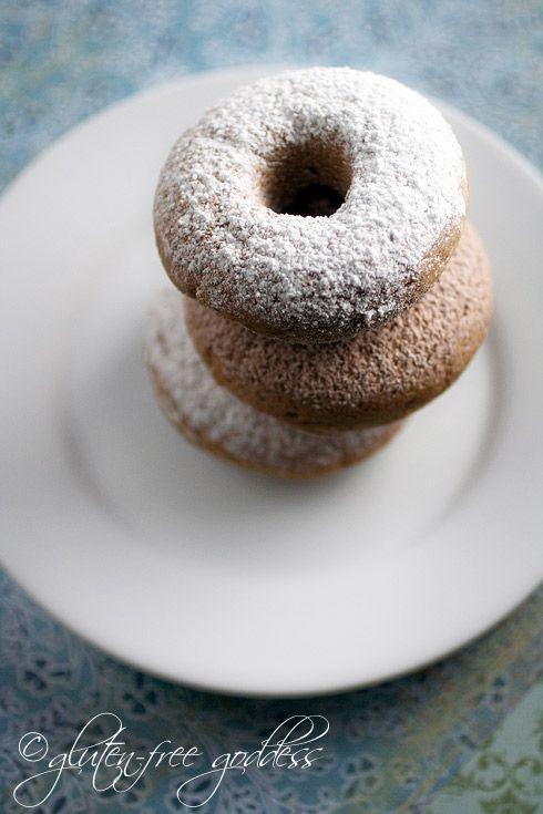 Gluten-Free Baked Donuts: Baking Donuts, Powder Sugar, Cinnamon Sugar, Cakes Donuts Recipes, Baking Doughnut, Gluten Free Donuts, Gluten Free Recipes, Cinnamon Recipes, Free Cinnamon