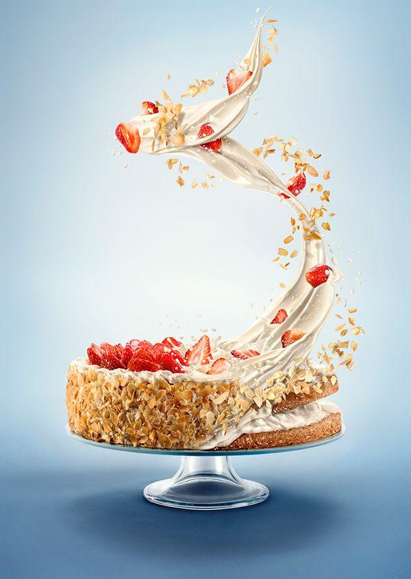 Maxima cake by Gintarė Vadeikytė, via Behance   Food Ads ...