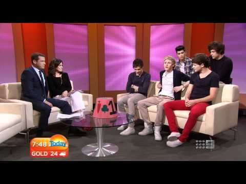 One Direction: Today Show Australia Full Interview (HD) (11.4.2012) - YouTube