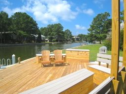 4000.00/ month.  Has nice video attached of island. Home is super nice.   Spinnaker Waterfront Vacation Rental House on Chincoteague Island, Virginia
