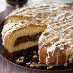 Клубничный пирог с шоколадной пастой