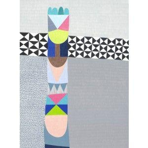 Totem Untitled - modern art print for sale online