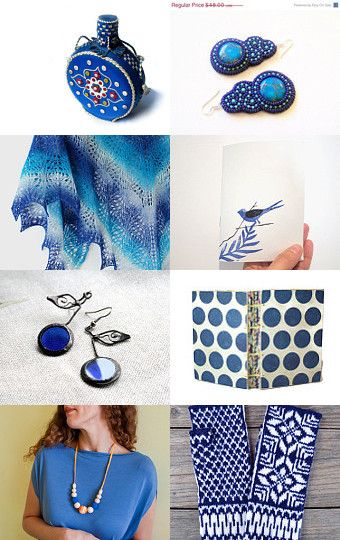 5. Blue(ish!) by sinfintoys on Etsy--Pinned with TreasuryPin.com