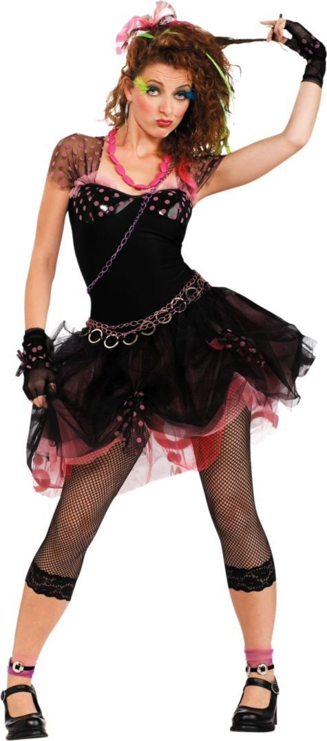 Adult Pop Diva 80's Costume - Party City