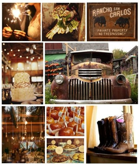Gorgeous! I will defiantly have a country theme wedding, no doubt!