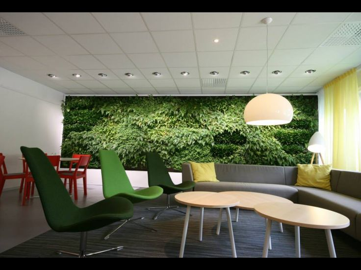 A living wall almost looks like you can walk into it from Vertical Plants System AB.