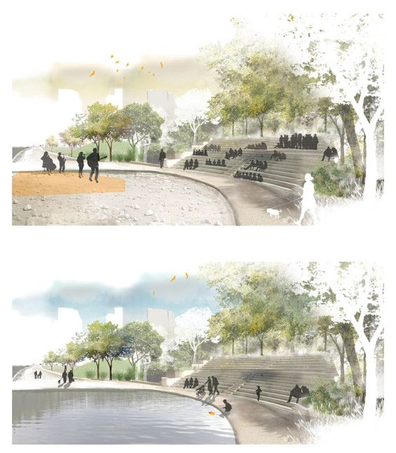 STUDENT PROJECT | As Streams In the Desert | Segal Lotem #landscapearchitecture…