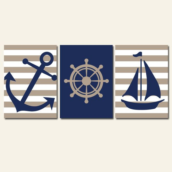 Nautical Anchor Bathroom Decor: Best 25+ Navy Bathroom Decor Ideas On Pinterest