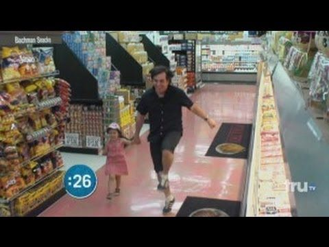Impractical Jokers - Touching Strangers in the Supermarket where are your parents? lmao