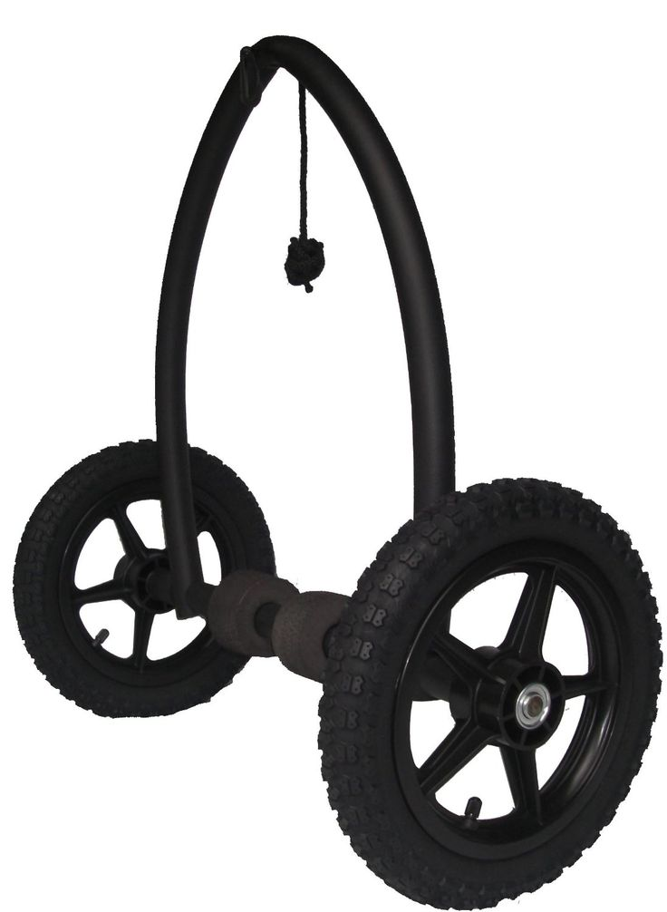 Trailtrekker Kayak Cart is quiet, easy to operate, floatable, and easy to store. Great wheels!