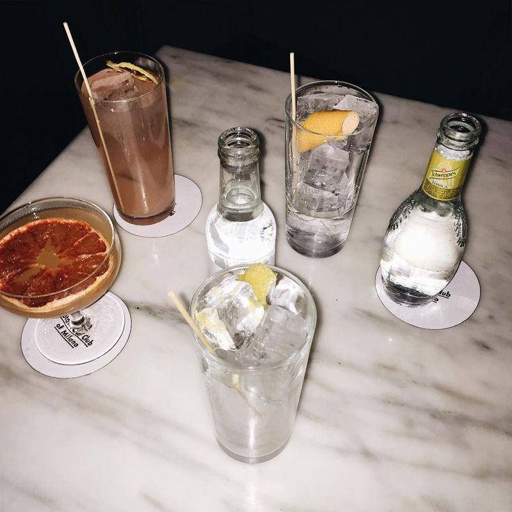 the botanica club drinks.  #drinks #refresh #thebotanicalclub #milan #essentials #gintonic #delicious #loveit