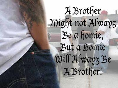 gangsta love quotes | homie homies gangsta gangstas ...