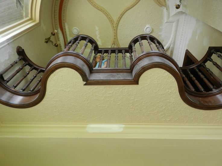 Second floor - detailed staircase