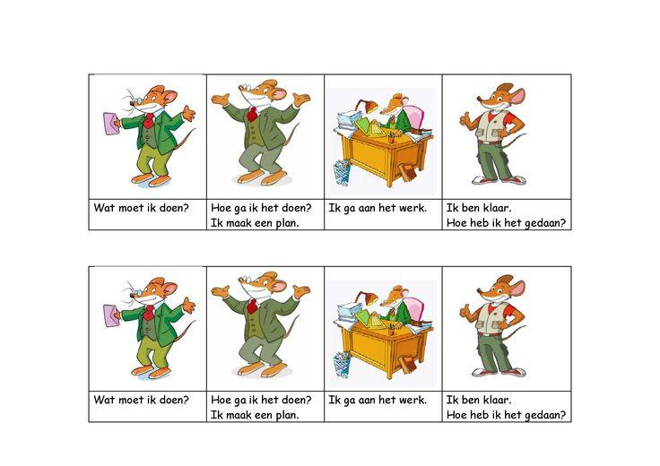 Zelfinstructiemethode van Meichenbaum (beertjesmethode) omgezet in Geronimo