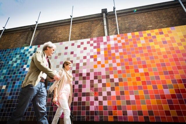 Tile mural Ptolemy Mann and Johnson #tiles