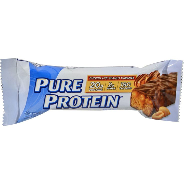 The Pure Protein Revolution Chocolate Peanut Caramel high protein triple layer bare packs in three times the flavor of an ordinary protein bar. Loaded with 32 grams of high quality protein and vitamin
