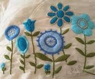Resultado de imagen para bordados con lanas