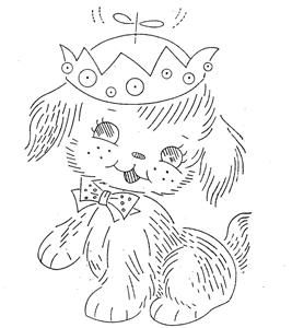 Hand Embroidery Pattern Design 7090 Nursery Animals for A Crib Quilt 1960s | eBay