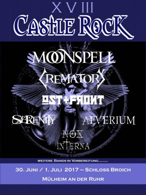 Serenity at the Castle Rock Festival 2017 - SERENITY - Symphonic Metal Band From Austria