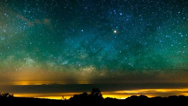 This is heaven #sky #heaven #stars